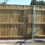 Timber Hit & Miss Fencing