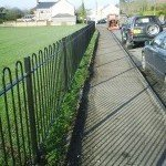 Bow Topped Steel Railings