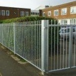 Blunt Topped Steel Railings